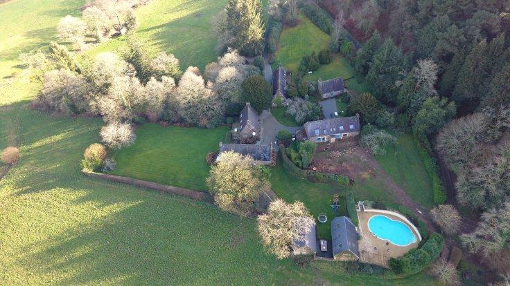 historic hamlet in France for sale