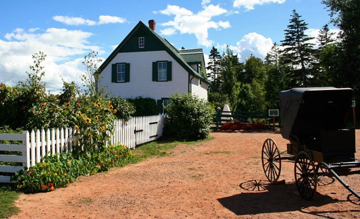 Green Gables Farm in Cavendish, Prince Edward Island