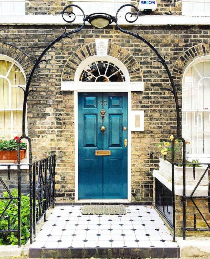 Bella Foxwell front doors