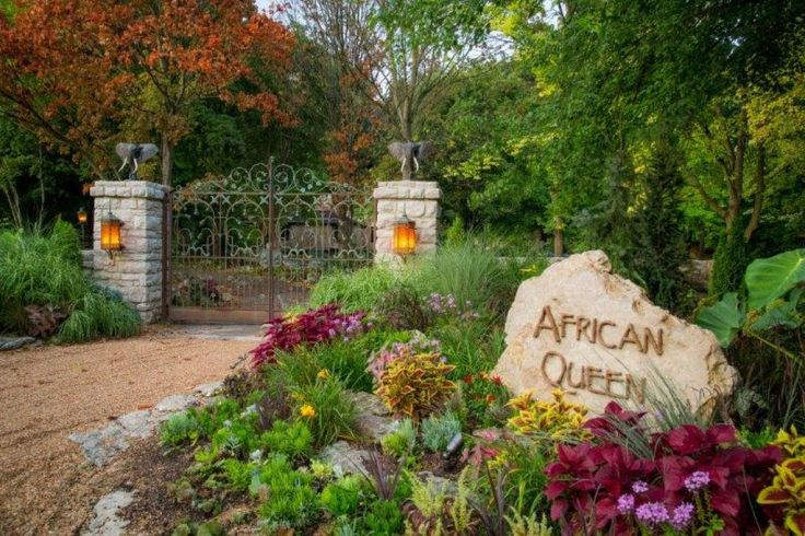 The African Queen house in Springfield Missouri