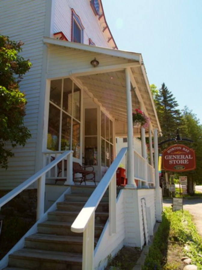 Horton Bay General Store In Northern Michigan
