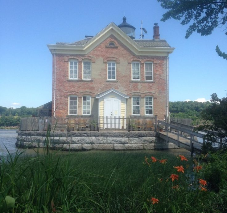 Saugerties Lighthouse in New York state