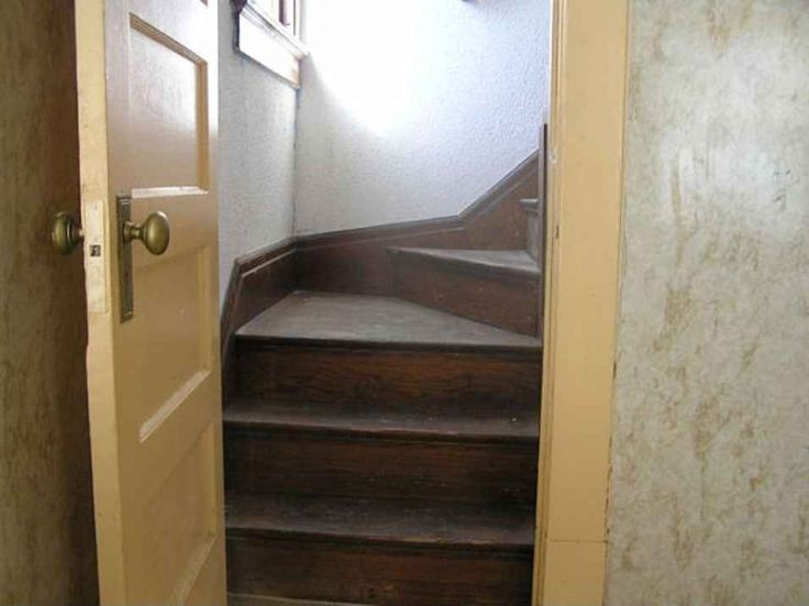 back servants staircase