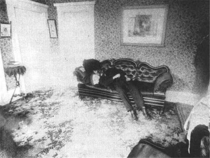 Lizzie Borden murder house crime scene photos
