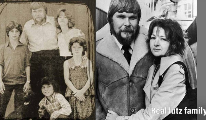The Lutz Family in Amityville