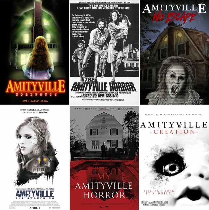 Amityville Horror House movies