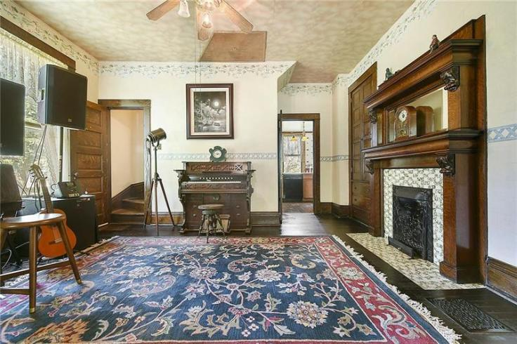 inside Buffalo Bill's house from the Silence of the Lambs movie