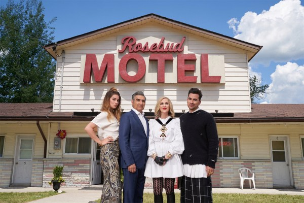 Rosebud Motel from Schitt's Creek