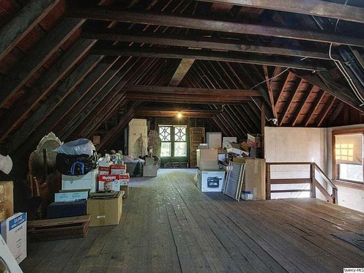 old house attics
