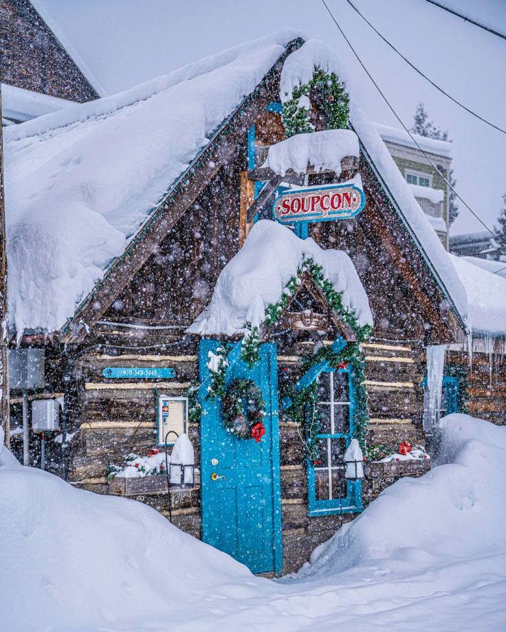 Crested Butte Colorado winter photos