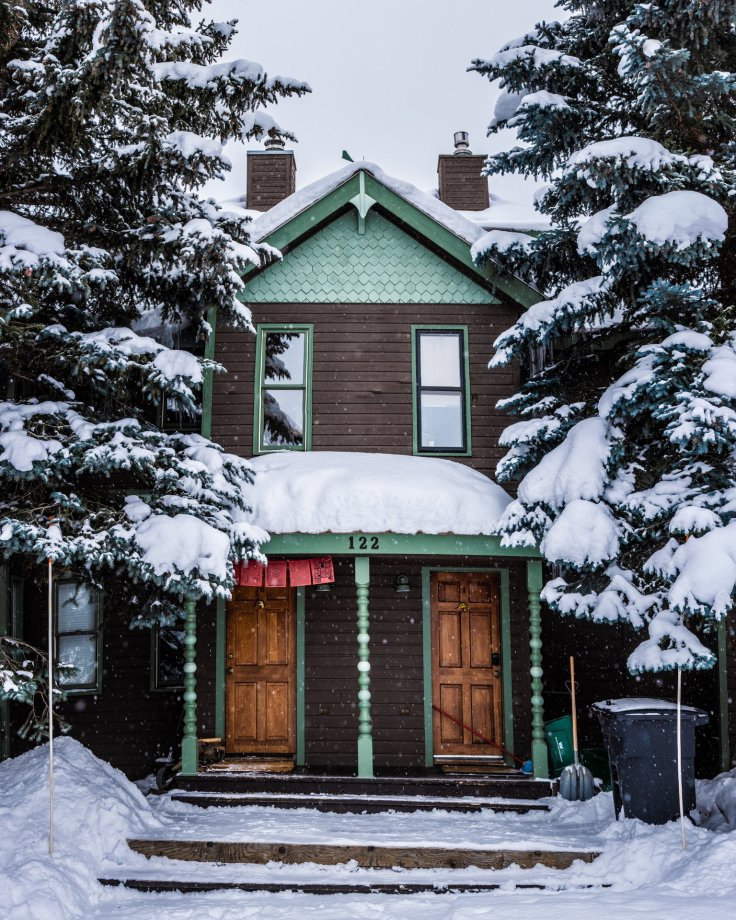 Crested Butte Victorian buildings