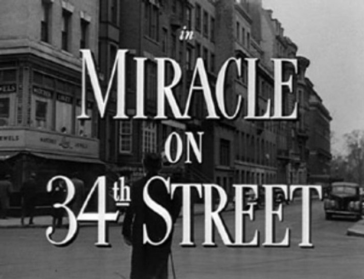 The Miracle on 34th Street movie house in real life