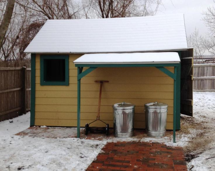 The real life house from A Christmas Story movie back yard