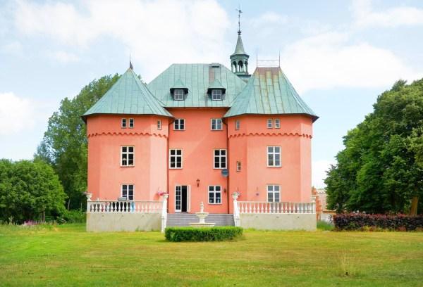Gärsnäs Castle in Sweden for sale