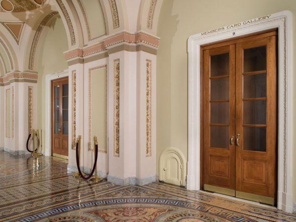 US Capitol's tiny doors
