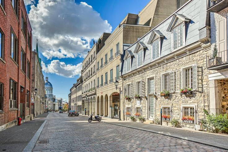 LA MAISON DUMAS, C. 1740 in Montreal
