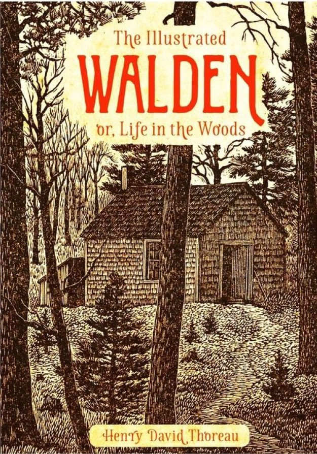 Walden - Life In The Woods book cover