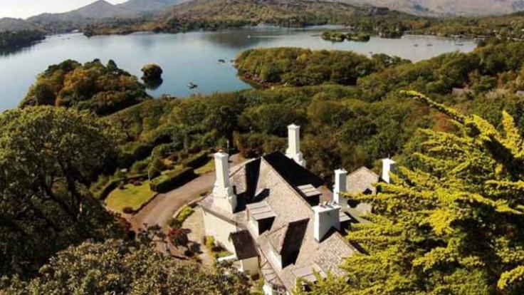Maureen O'Hara's Irish home Lugdine Park
