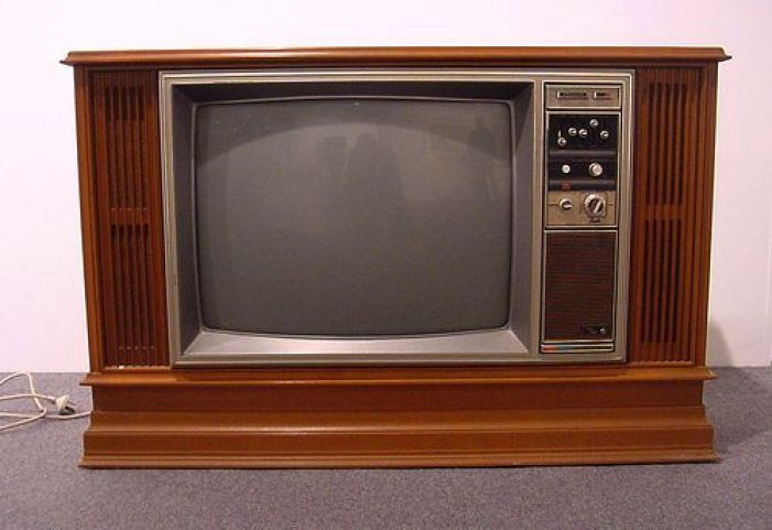 1970's vintage television
