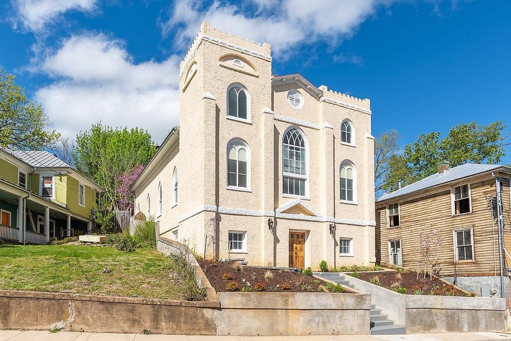 Staunton Virginia church converted to home