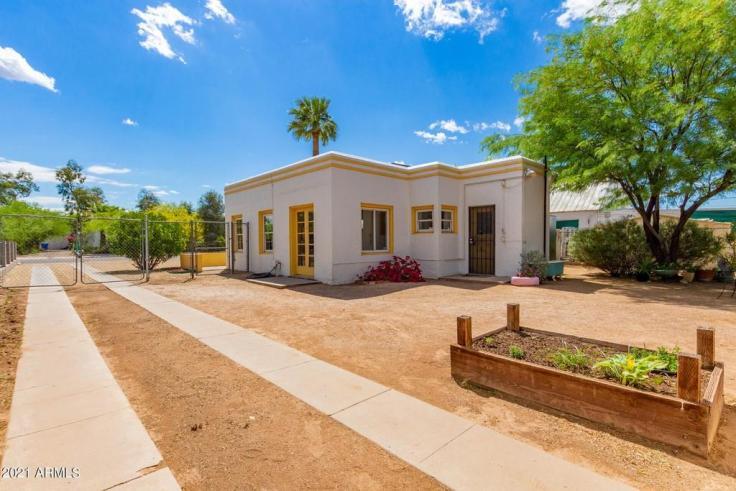 1940 Art Deco style house in Phoenix AZ