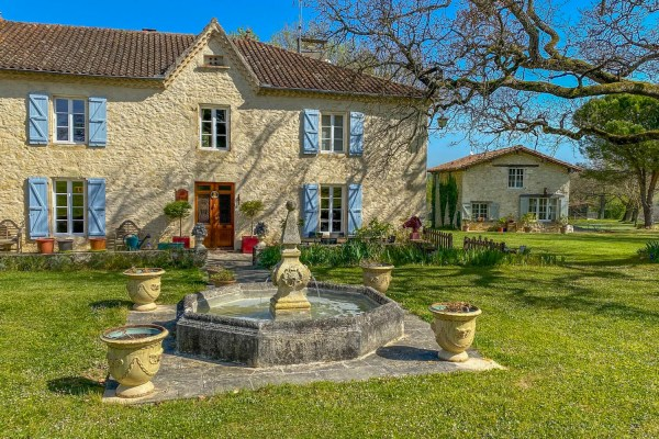 French country house for sale