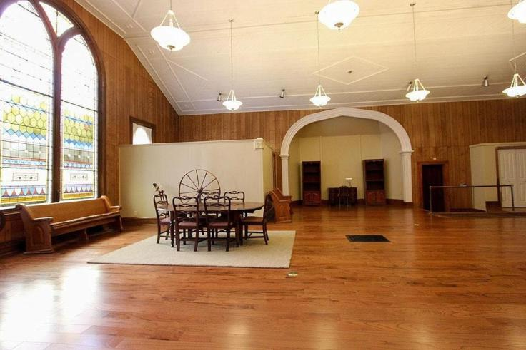 Old Methodist church converted to home