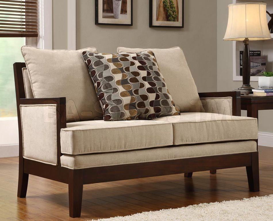 Traditional Wooden Sofa Set Design