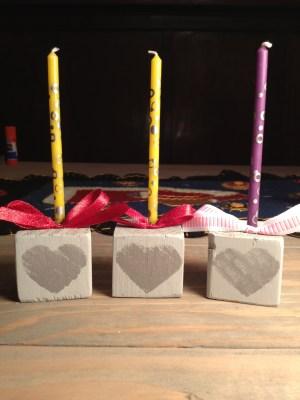 2x2 block candles