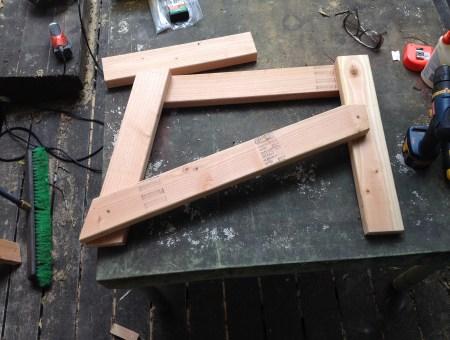 Hand-Built Adirondack Chair