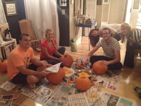 Pumpkin Carving Party || House. Food. Baby.