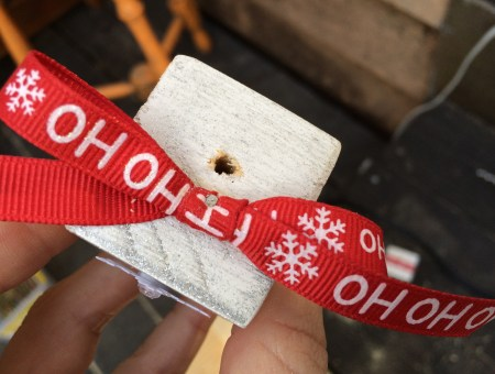 2x2 Miniature Snowflake Decorative Blocks || House. Food. Baby.