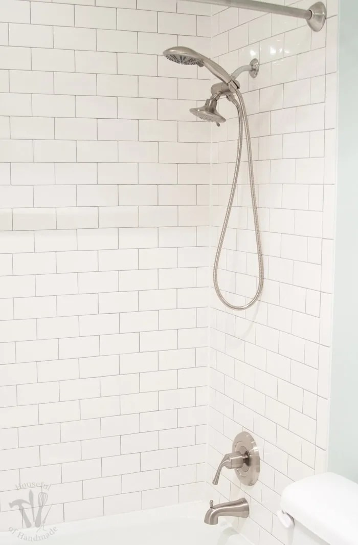 installing new tub shower fixtures