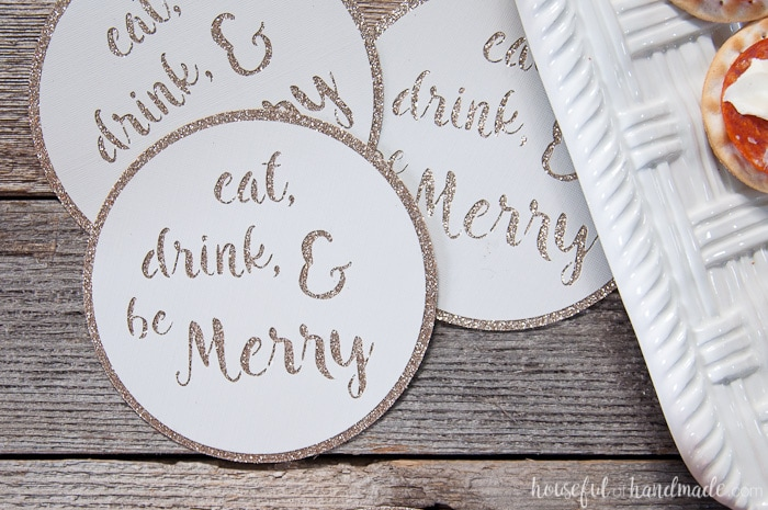 quick and easy diy drink coasters