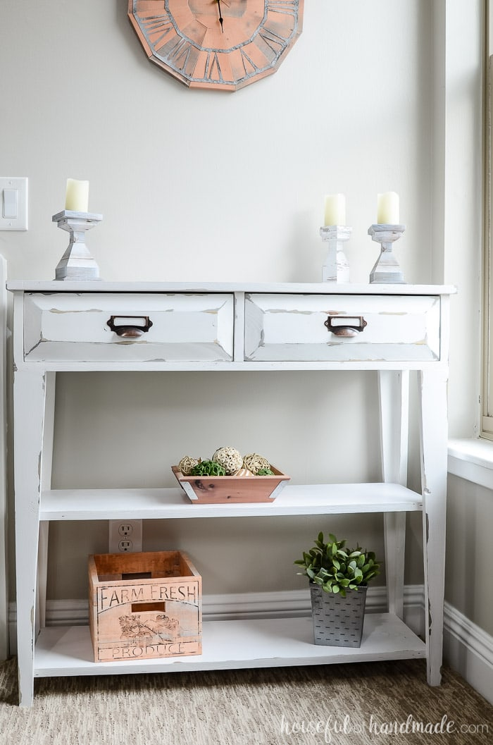 Small Console Table Plans Houseful Of Handmade