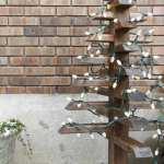 Diy Outdoor Christmas Trees With Lights Houseful Of Handmade