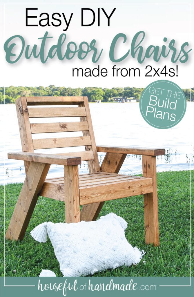 Outdoor Lounge Chair Build Plans Houseful Of Handmade