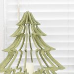 3d Wood Christmas Trees Houseful Of Handmade