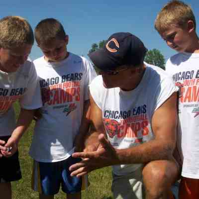 Fit & Healthy During the Summer: Chicago Bears Youth Camp Sponsored Giveaway
