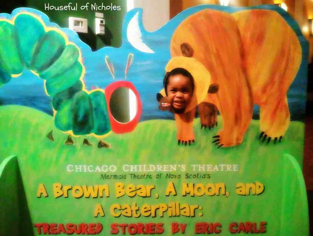 A Brown Bear, A Moon and A Caterpillar: Treasured Stories by Eric Carle