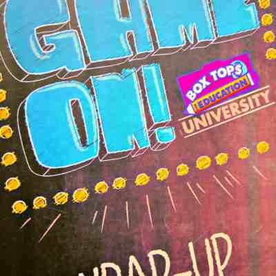 National Box Tops University:GAME ON!