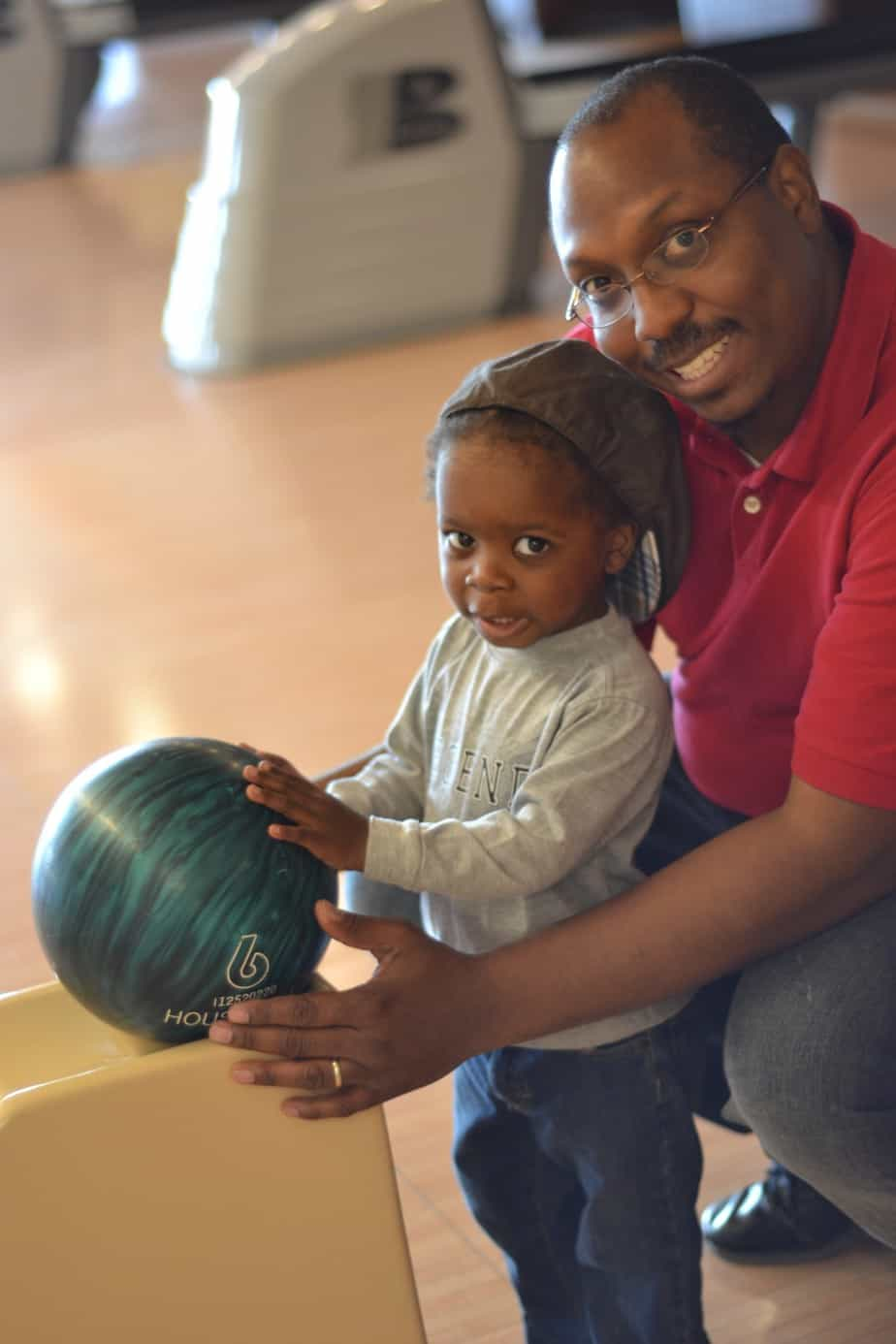 Pinstripes offers great bonding opportunities for parents and children.