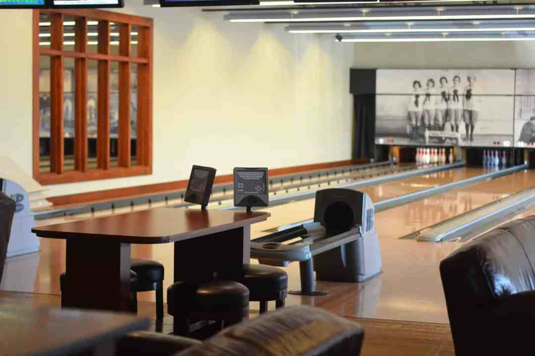 Pinstripes bowling alley, is a great family gathering space in the Chicagoland area.