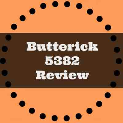Butterick 5382 Review