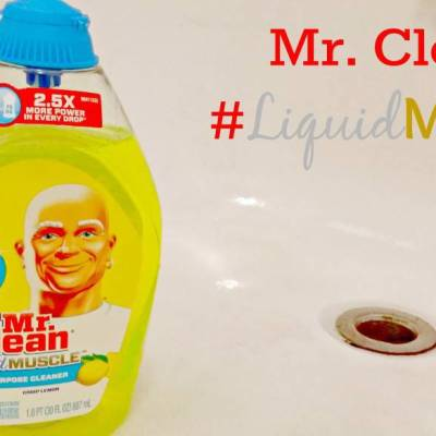 Mr. Clean #LiquidMuscle Gel Cleaner