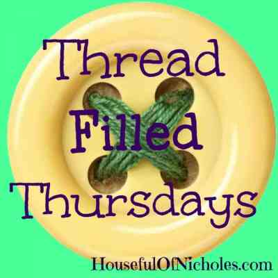 Noodlehead Divider Basket: Thread Filled Thursdays Linky Party
