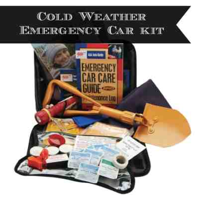 Cold Weather Preparedness Car Kit