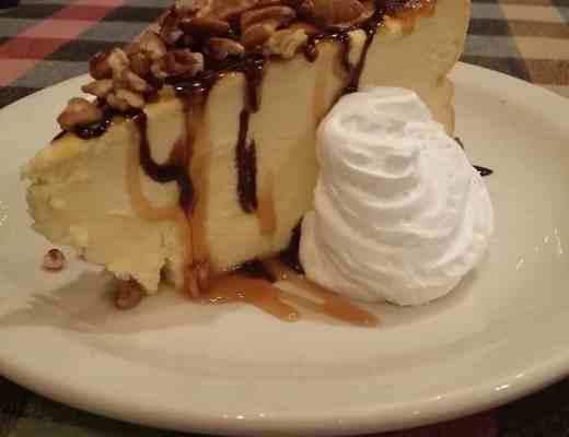 Leona's Turtle Cheesecake
