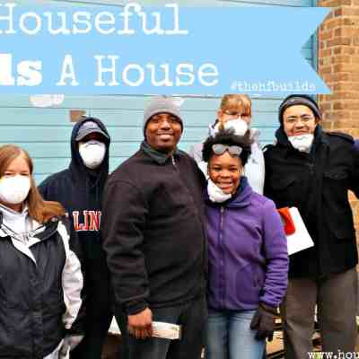 Full Of Words Wednesday: The Houseful Builds #thehfbuilds