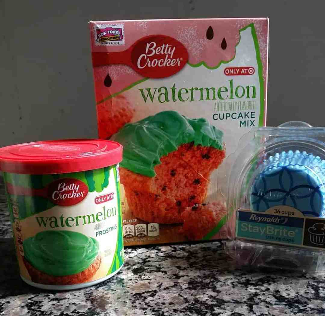 Betty Crocker Watermelon Box Tops